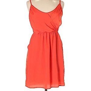 Lush | red dress
